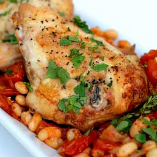 Gluten Free Tuscan Chicken and White Beans