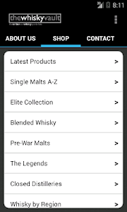 Whisky Vault screenshot 1