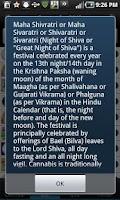 Screenshot of Desi Calendar