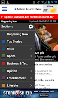 Screenshot of Abilene Reporter-News