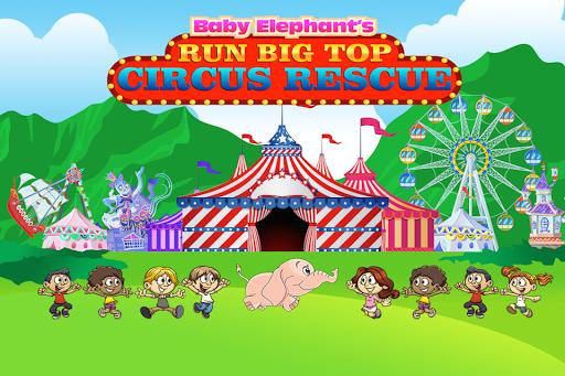 Baby Elephant's Big Top Rescue