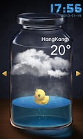 Screenshot of Bottle GO Locker Theme