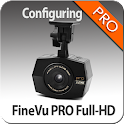 FineVu PRO Full-HD configuring icon