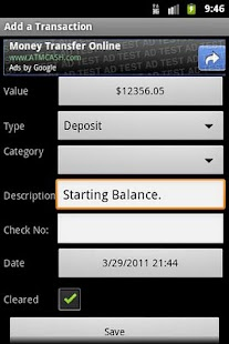 Checkbook (free) - screenshot thumbnail