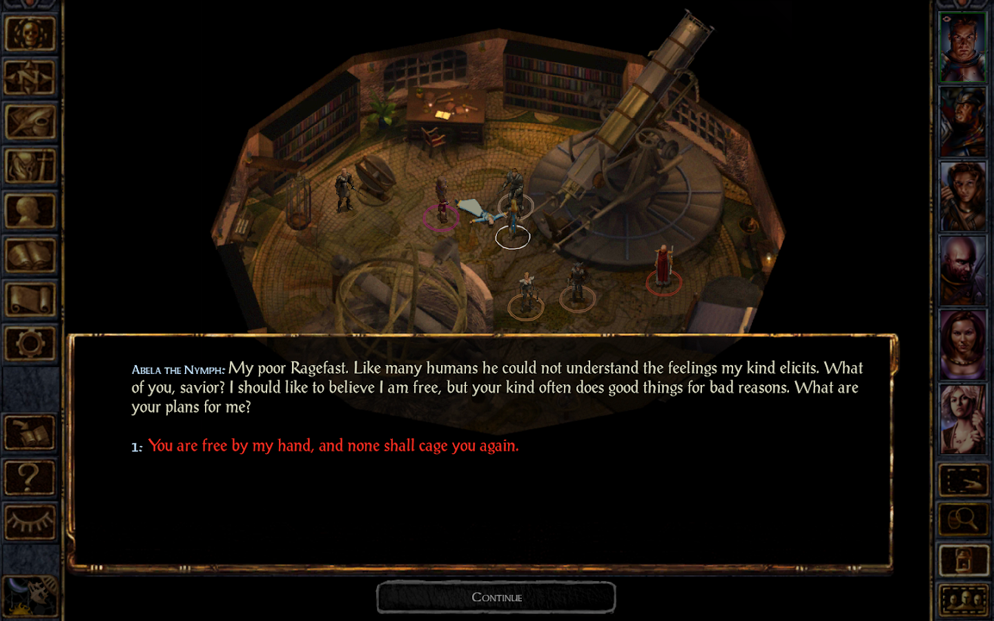 Baldur's Gate Enhanced Edition- screenshot