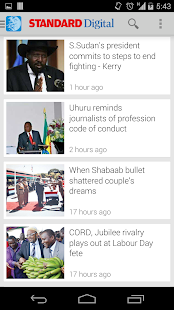 The Standard Kenya - News/ TV - náhled