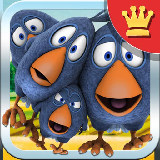 娱乐のワイヤーで話している鳥 - AdFree LOGO-記事Game