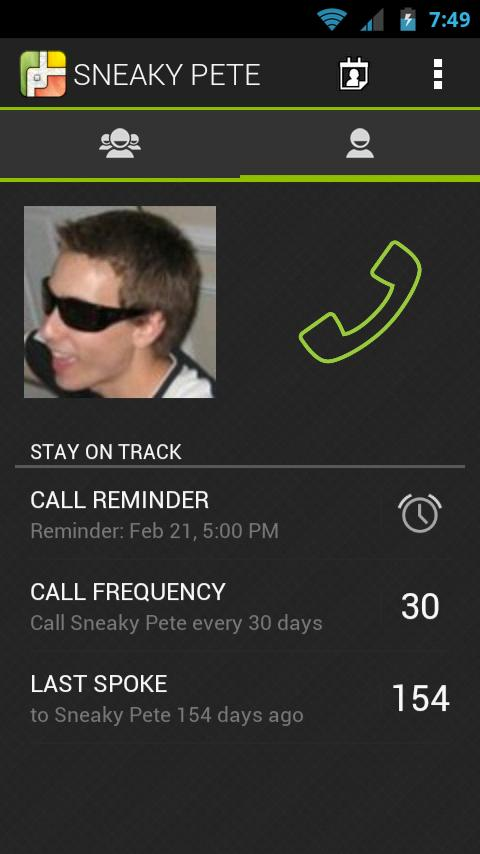 Phone Tracks - screenshot