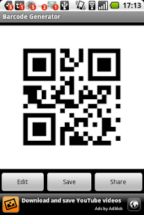 Barcode Generator / Reader- screenshot thumbnail