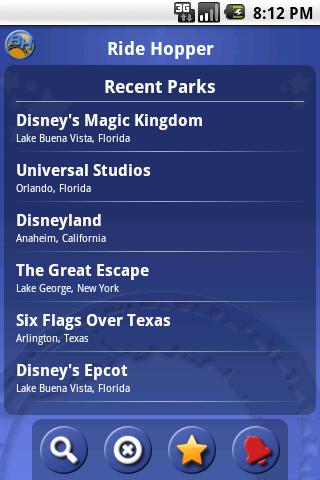 Ride Hopper Park Wait Times- screenshot
