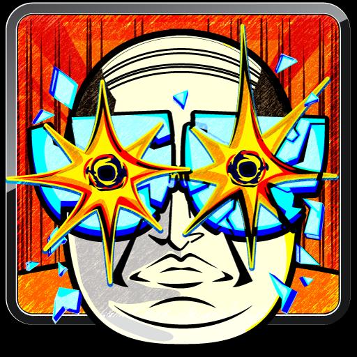 おやぢサミット〜おやじのメガネを割って爽快暇つぶしゲーム〜 休閒 App LOGO-APP試玩