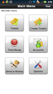 Mobile Service 2.0 - náhled