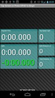 Screenshot of Rally Dash Trackmaster Layout