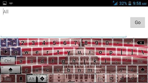 American Theme Keyboard