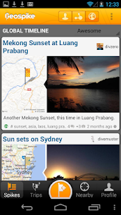Geospike – Travel Journal- screenshot thumbnail