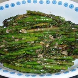 Grilled Asparagus with Lemon Tarragon Dressing Recipe