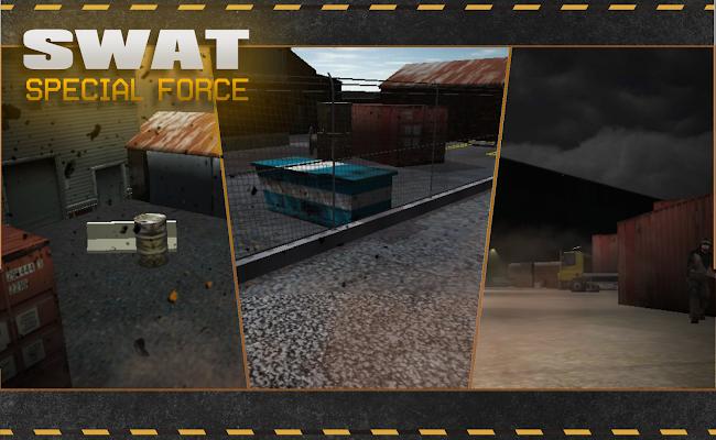 SWAT 3D war game shooter - screenshot