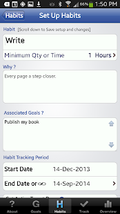 Habit Factor® LT, Goals,Habits - screenshot thumbnail