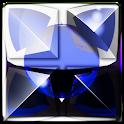 blue snake Next Launcher Theme icon
