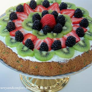 Funfetti Fruit Tart
