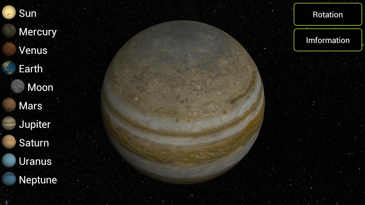 Solar Planets 3D - screenshot