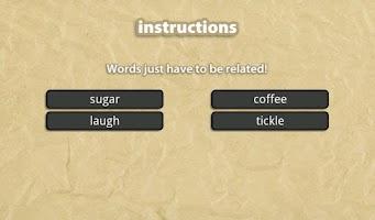Screenshot of Word to Word: Association Game