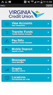 VACU Mobile Banking - screenshot thumbnail