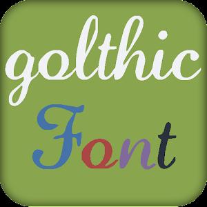 Готические шрифты установить 4 2