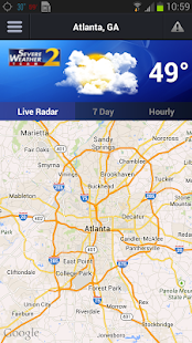 WSBTV Channel 2 Weather - screenshot thumbnail