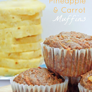 Pineapple & Carrot Muffins