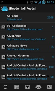 JReader (Google Reader | RSS) - screenshot thumbnail