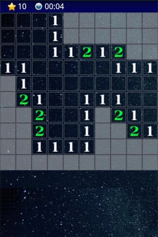 MineSweeper Galaxy- screenshot