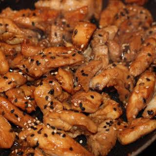 Asian Sesame Chicken Stir Fry (FODMAP friendly).