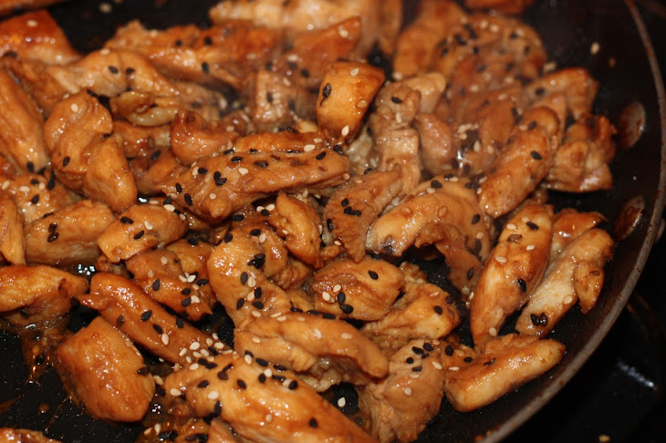 Asian Sesame Chicken Stir Fry (FODMAP Friendly) Recipe