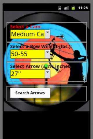 Archery Compound Arrows- screenshot