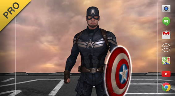 Captain America: TWS Live WP - screenshot thumbnail