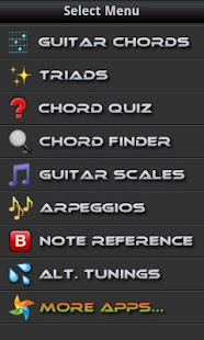 Guitarist's Reference - screenshot thumbnail