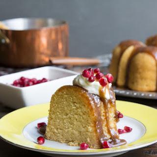 Vanilla Bean Rum Bundt Cake