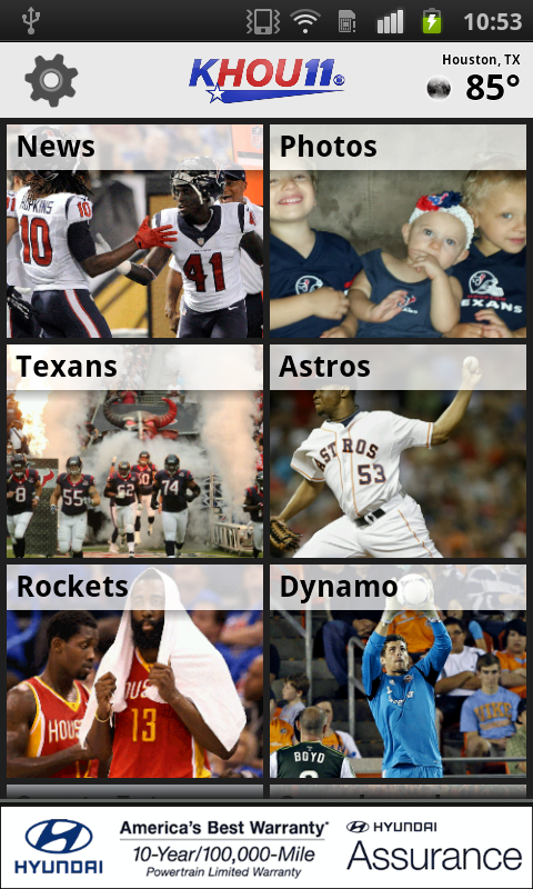 KHOU 11 Houston Sports - screenshot