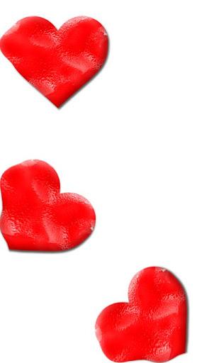 Sticky teddy bear love heart