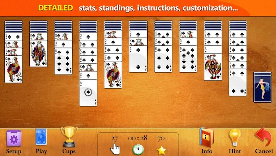 Easy Spider Solitaire - screenshot thumbnail