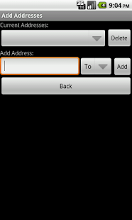 SpamGrabber For Android - screenshot thumbnail