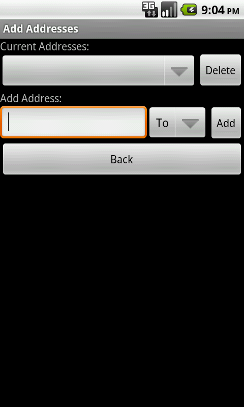 SpamGrabber For Android - screenshot