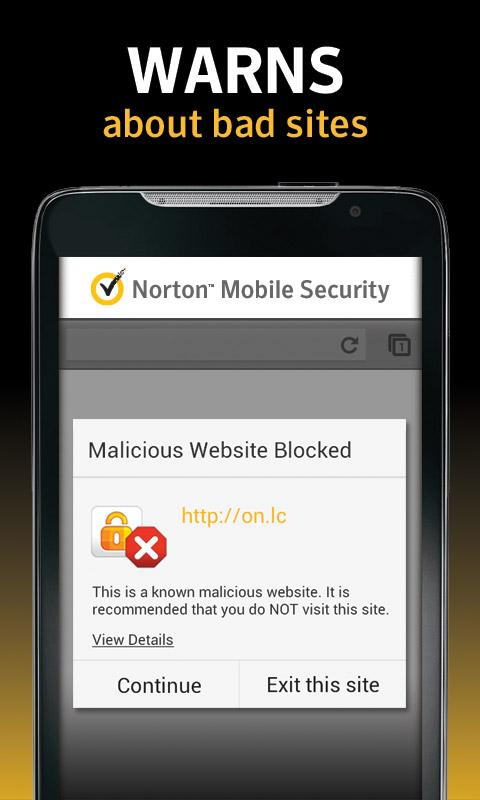 Norton Security and Antivirus - screenshot