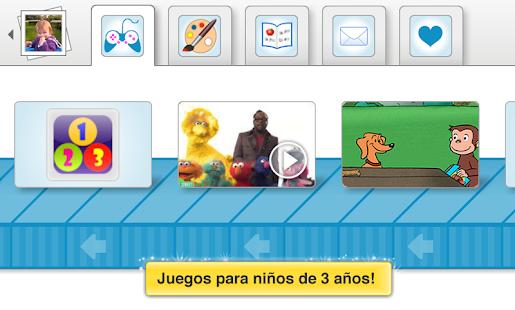 Modo Niños: Juegos y Videos: miniatura de captura de pantalla