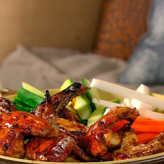Teriyaki-Glazed Wings