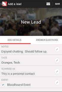 Bloodhound Lead Management - screenshot thumbnail