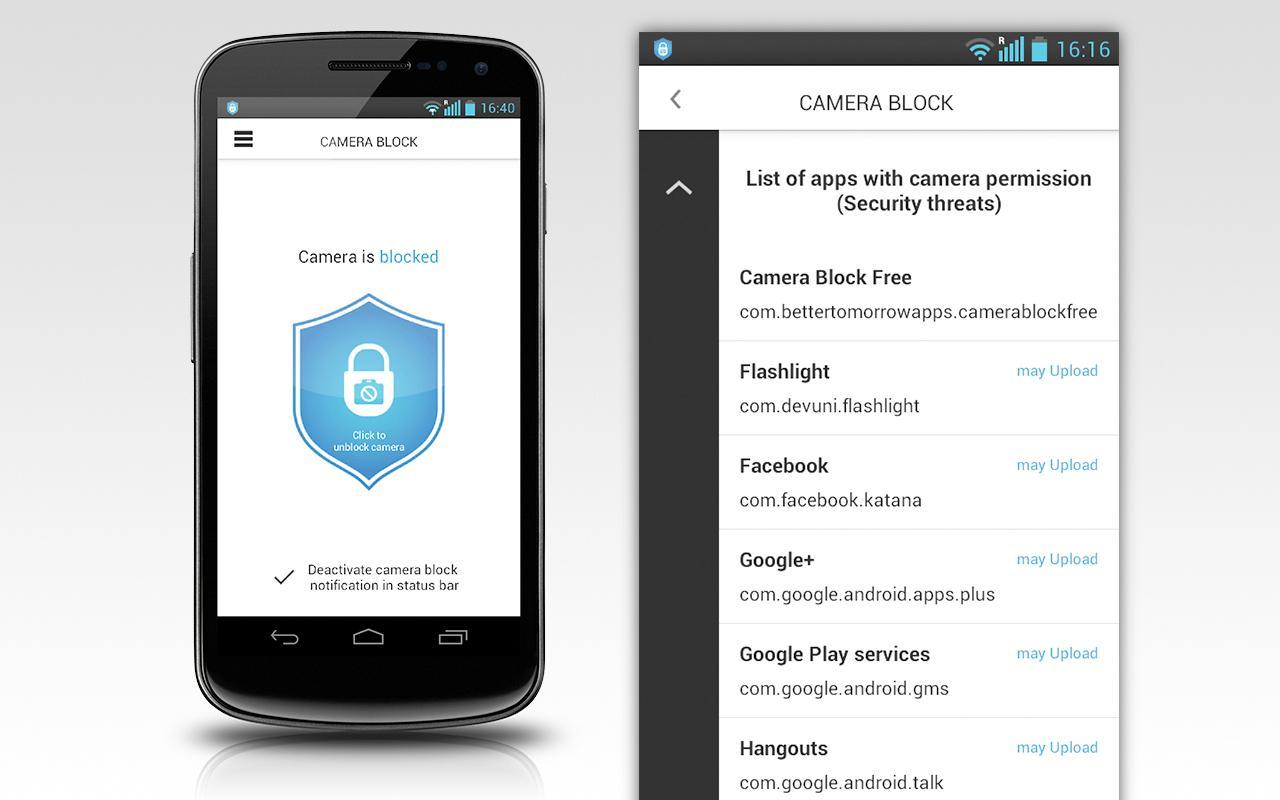 Camera Block - Spyware protect - screenshot