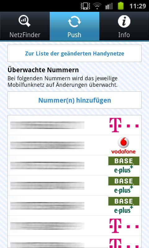 NetzFinder - screenshot