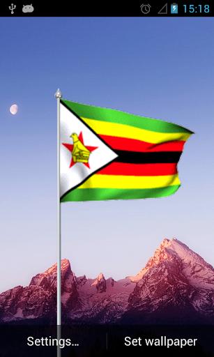 Zimbabwe Flag Lwp
